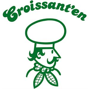 Croissant'en logo