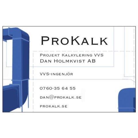 Projekt Kalkylering VVS Dan Holmkvist AB logo