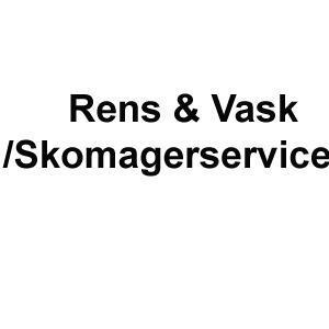 Rens & Vask / skrædder service logo