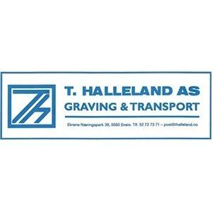 T Halleland AS logo