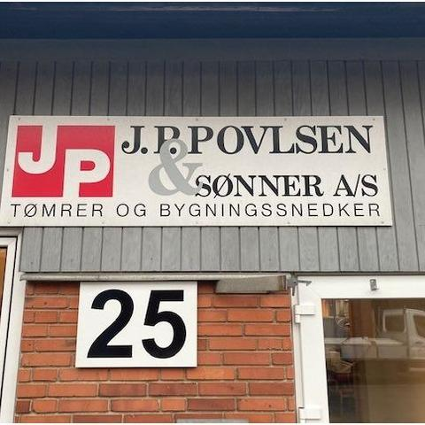 J. P. Povlsen & Sønner A/S logo