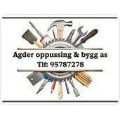Agder Oppussing & Bygg AS- Proff Alt på ett sted logo