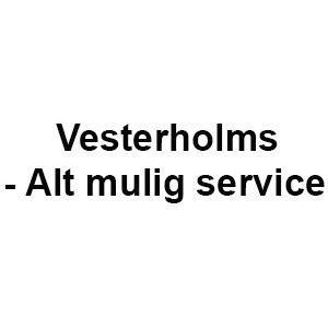 Vesterholms - Alt mulig service logo