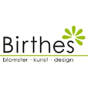 Birthes Blomster logo