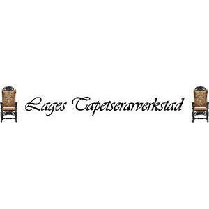 Lages Tapetserarverkstad logo