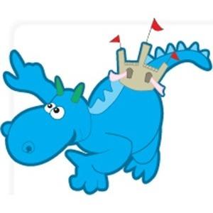 Personalkooperativet Blå Draken Ek för logo