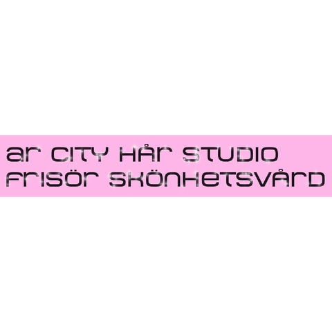 AR City Hårstudio logo
