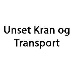 Unset Kran og Transport logo
