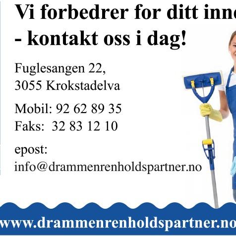 Drammen Renholdspartner AS logo
