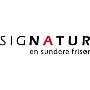 SIGNATUR - en sundere frisør logo