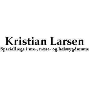 Kristian Larsen Speciallæge i Øre-Næse-Halssygdomme logo