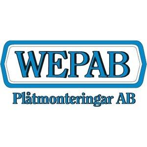 Wepab Plåtmonteringar AB logo