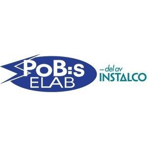 P o B:s Elektriska AB logo