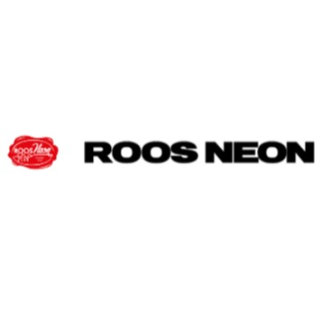 Roos Neon Produktion AB logo