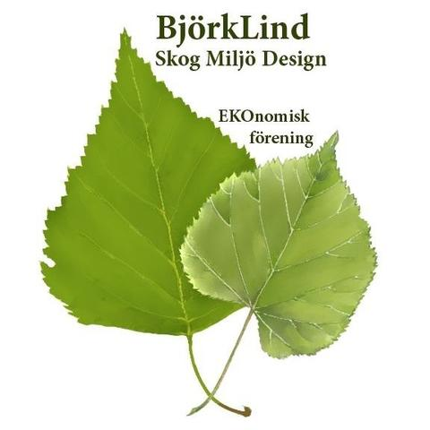 Björklind Skog Miljö Design Ekonomisk Förening logo