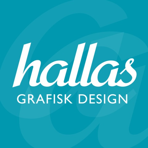 Hallas Grafisk Design logo