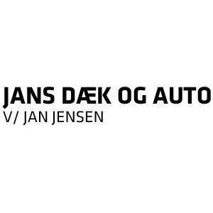 Jans Dæk & Auto ApS logo