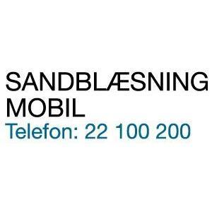 Mobil Sandblæsning logo
