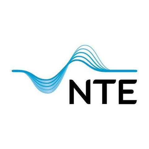 NTE Marked AS logo
