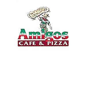 Amigos Cafe & Pizza logo