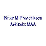 Peter M. Frederiksen Arkitekt MAA logo