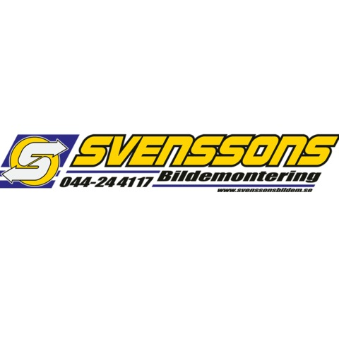 Svenssons Bildemontering, AB logo