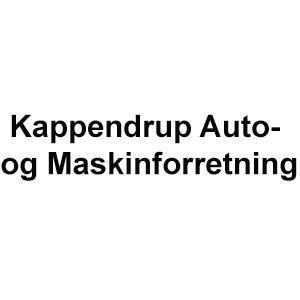 Kappendrup Auto- og Maskinforretning logo