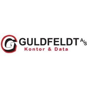 A. Guldfeldt Kontor og Data A/S logo