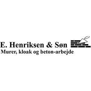 E. Henriksen & Søn, v/ Murermester D. R. Christiansen ApS logo