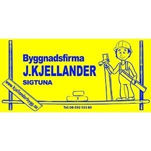 Byggnadsfirma J. Kjellander AB logo