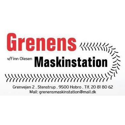 Grenens Maskinstation logo