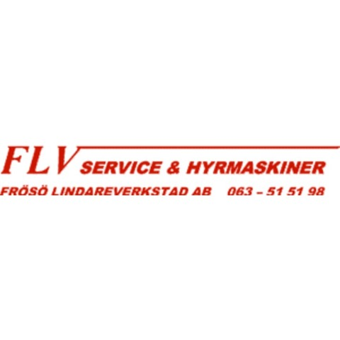 Frösö Lindareverkstad AB, FLV logo