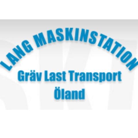 Lang Maskinstation Gräv, Last, Transport logo