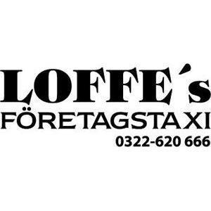 Loffes Företagstaxi logo