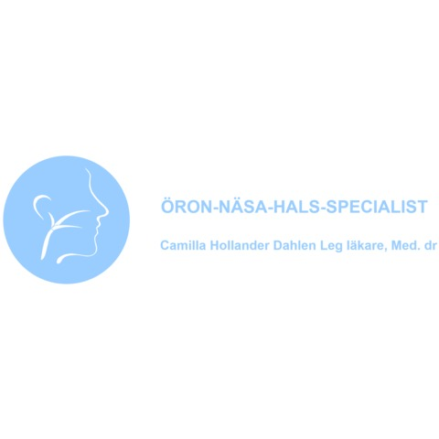 Öron-näsa-hals-Specialist, dr Hollander, Kronprinsens Läkarhus logo