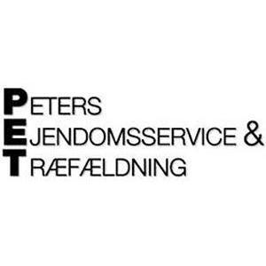 P-E-T.DK Træfældning V/ Peter Frederiksen logo