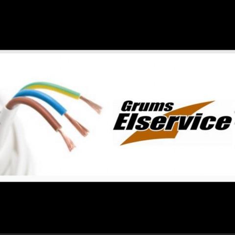 Grums Elservice Handelsbolag logo