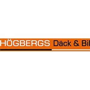 Högbergs Däck och Bil HB logo