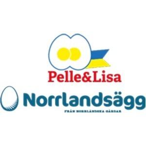 Pelle & Lisa / Norrlandsägg AB logo