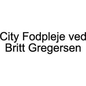 City Fodpleje ved Britt Gregersen logo