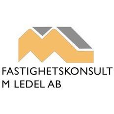 Fastighetskonsult M Ledel AB logo
