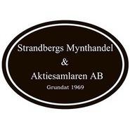 Strandbergs Mynthandel & Aktiesamlaren AB logo