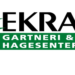 Ekra gartneri og Hagesenter AS logo