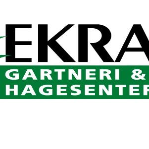 Ekra gartneri og Hagesenter AS logo