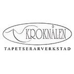 Kroknålen Tapetserarverkstad logo