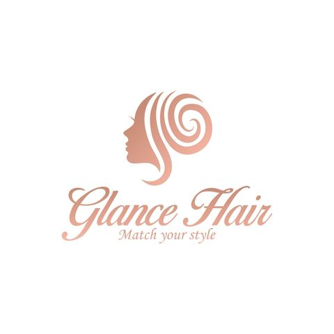 Glance Hair logo