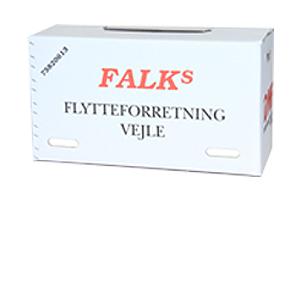 Falks Flytteforretning ApS logo