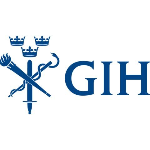 Gymnastik- och idrottshögskolan, GIH logo