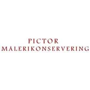 Pictor Målerikonservering logo
