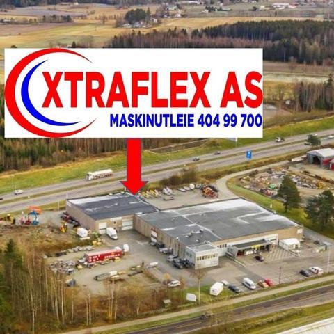 Xtraflex  Maskinutleie AS logo
